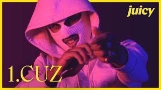1.Cuz listar favoritlåtar och teasar ny musik / Playlist Juicy
