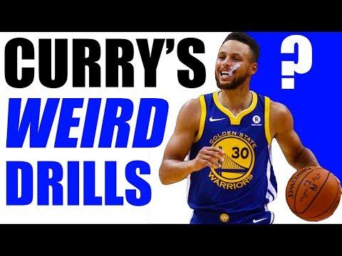 Stephen Curry's WEIRD Drills To Improve Handles! (Masterclass)