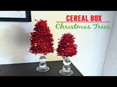 DIY Christmas Tree | Cereal Boxes