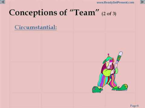 Team Building PowerPoint Presentation Content
