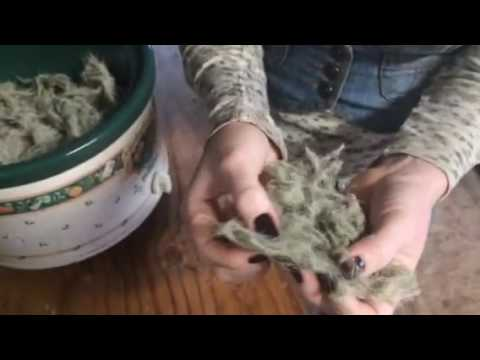 How to make alcohol-free tinctures with Usnea