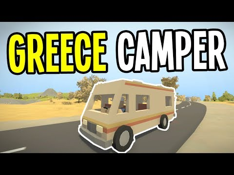 Unturned - FINDING the CAMPER RV in Greece!! - Greece Map Survival - Episode 1