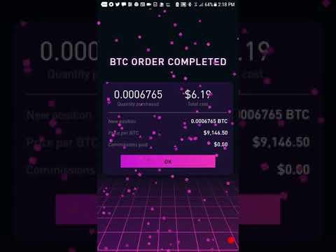How To Buy Bitcoin With The Robinhood App