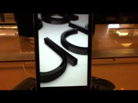 IPod touch screen saver demo video