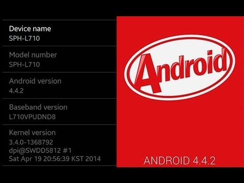 L710VPUCND8 Sprint Galaxy S III SPH-L710 Android 4 4 2 KitKat Firmware Upgrade