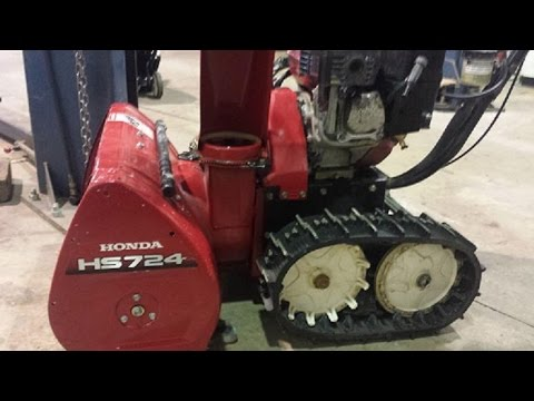 How to replace shear pins and shear bolts on a Honda Snow Thrower