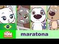Mini-Maratona (Episódios 1-4) - Talking Tom and Friends Minis