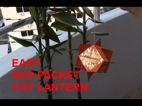 red packet Lantern EASY