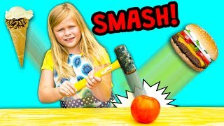 Download FOOD SMASH Surprise Find Healthy Foods With the Assistant Video