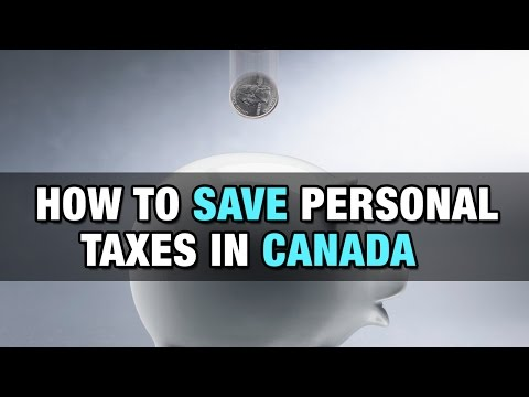 How to Save Personal Taxes in Canada