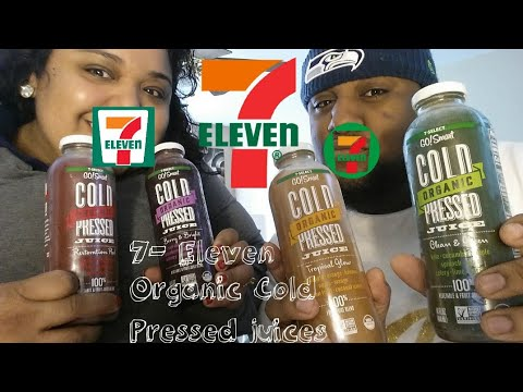 7 Eleven 7-Select GO! Smart Organic Cold Pressed Juices Review