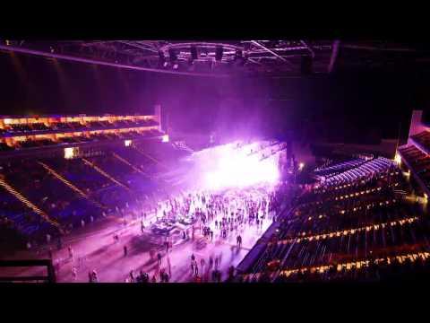 The Prodigy - Time-lapse (London O2 Arena NYE 2013)