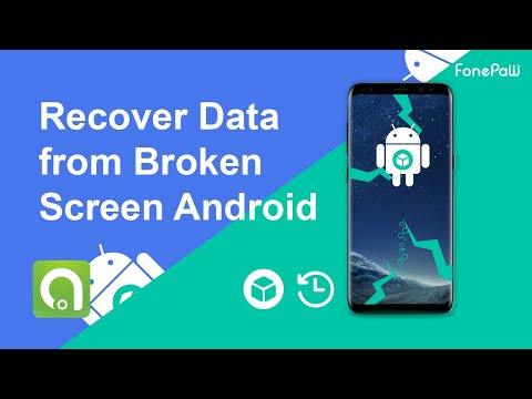 Recover Data from Broken Screen Android(Samsung)