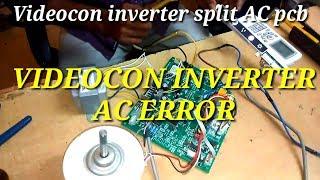 New fan motor setting AC pcb,H6,F6,E6 error code | Music Jinni