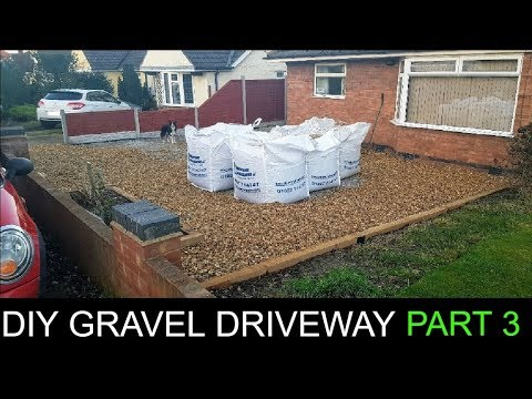 DIY Gravel Driveway Part 3 / The Carpenter's Daughter