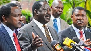 Has Raila Swearing In Divided NASA Principals?