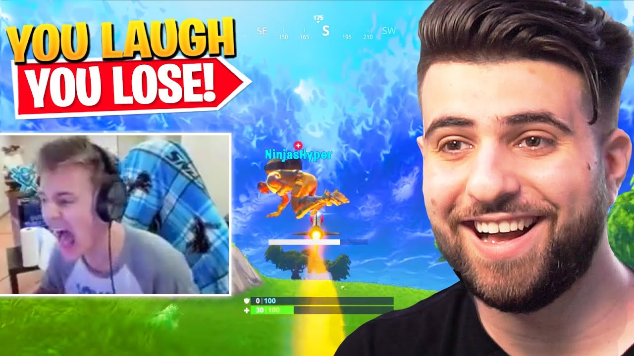 FORTNITE TRY NOT TO LAUGH (Impossible)