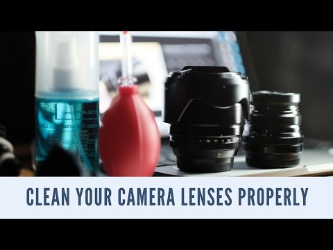 How To Properly Clean Your Camera Lenses, - FUJIFILM Lenses