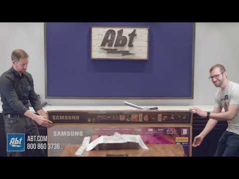 Unboxing: Samsung 2018 QN65Q7FN 4K QLED
