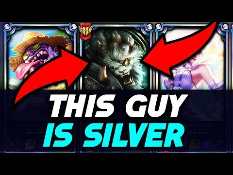 Do They Deserve it? Placing a SILVER Rengar in a Diamond Solo Q Game (League of Legends)