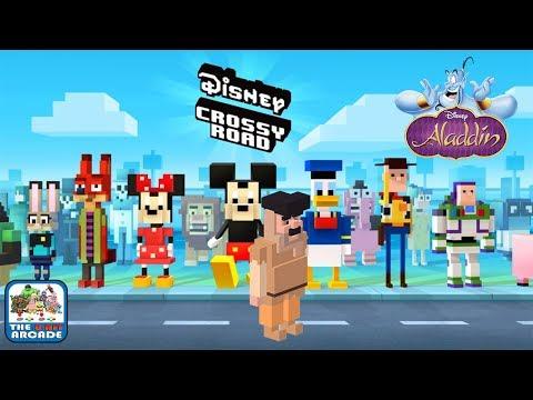 Disney Crossy Road - Crossing Roads During Arabian Nights (iOS/iPad Gameplay)