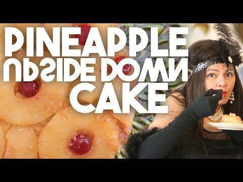 Pineapple Upside down Cake | Vintage recipe | Kravings