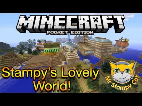 Stampy World Map.Minecraft Pe Hello Neighbour Addon Modded Map Minecraft Pe Hello