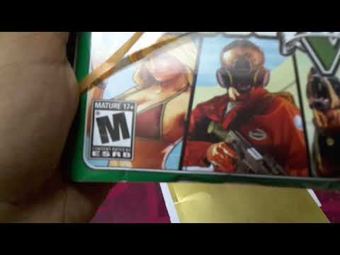 Unboxing grand theft auto 5