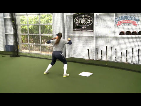 Footwork Around a Base for Softball Infielders!