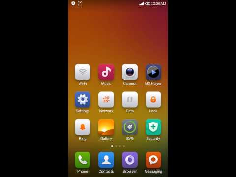 How to turn off/turn on screen rotation in Xiaomi Mi 3 phone