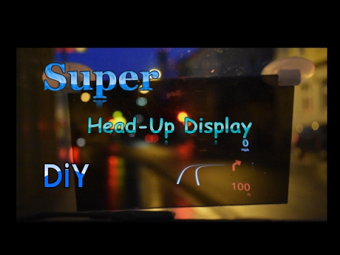 How to Make EASY a Head Up Display ( HUD )