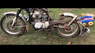 Download Will It Run? 1971 Honda Motorcycle Cut In Half! Video