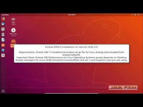 Eclipse 2018-12 Installation on Ubuntu 18.04 LTS and Java 11 Modular Programming