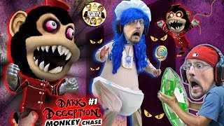 DON'T STOP RUNNING!! Scary Monkey Game! 🙈 (FGTEEV Ape Chase gets Upgrade?)