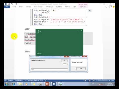 #42 Microsoft Excel  Code CubeRoot   Khmer Teaching