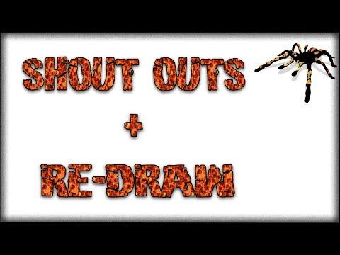 Shout Outs / Re Draw - Beginners Burrrow
