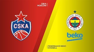 CSKA Moscow - Fenerbahce Beko Istanbul Highlights |Turkish Airlines EuroLeague, RS Round 8