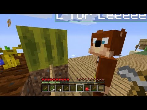 Minecraft Xbox - Skyblock Map - Juicy Melons - Part 5