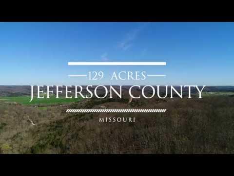 Private Timber Ground Acreage for Sale in Jefferson County Missouri