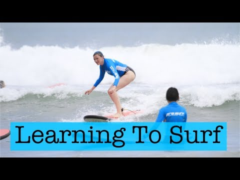 Learning To Surf | Bali Vlog 6