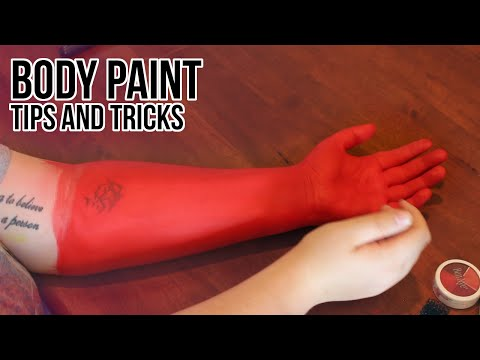 Cosplay DIY: Body Paint Tips and Tricks