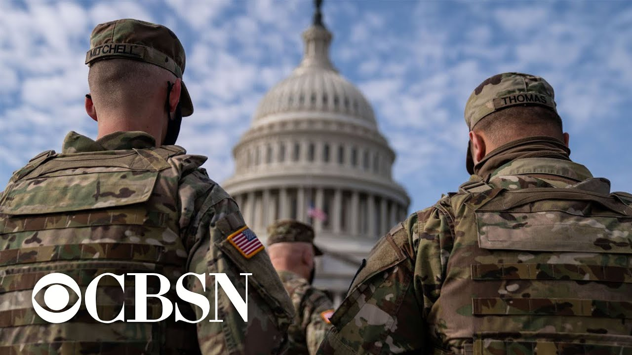 FBI vetting troops stationed in Washington ahead of Inauguration Day