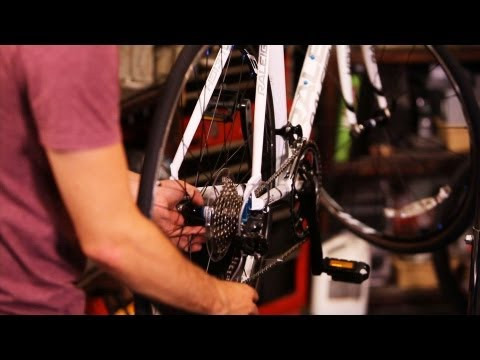 How to Replace a Back Bike Wheel | Bicycle Repair