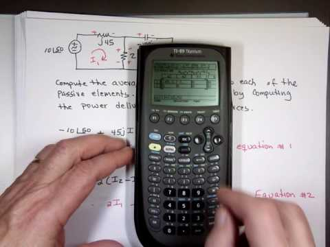 Example on Calculating the Average power
