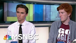 'We have to stand up and say we don't want to take this anymore' | AM Joy | MSNBC
