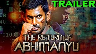 The Return of Abhimanyu (Irumbu Thirai) 2019 Official Hindi Dubbed Trailer | Vishal, Samantha, Arjun