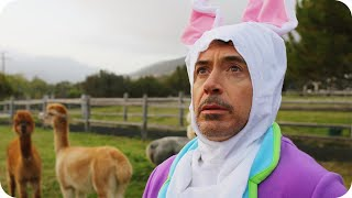 Robert Downey Jr Hops Around A Farm In A Bunny Suit Omaze