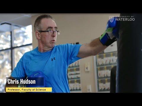 In the fight of his life - Waterloo Professor Chris Hudson battles Parkinson's