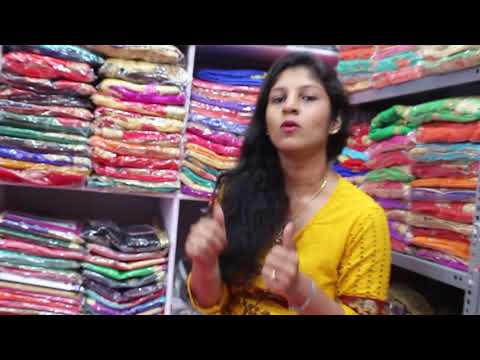 Wholesale Embroidery Sarees Starts Rs.125/- to Rs.600/- | Maaruti Textiles | Surat Textile Market