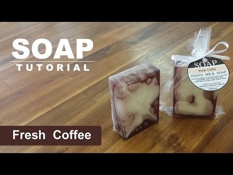 Fresh Coffee, Melt & Pour Soap Tutorial